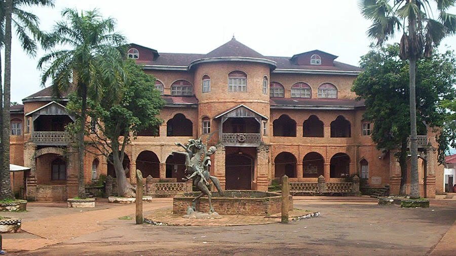 Le palais du sultan Roi des Bamouns à Foumban, Cameroun.